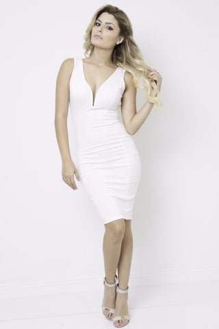 Gaci Side Slit Dress