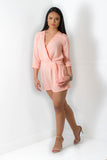 Fresh Peach Romper - Adore Fashion