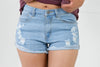 Emily Denim Shorts - Adore Fashion
