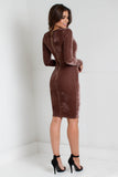 Obsessed Velvet Dress - Adore Fashion