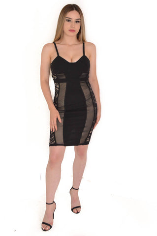 Cutout Back Formal Dress