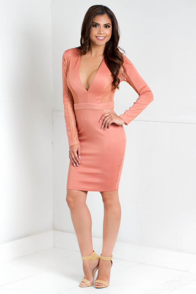 Copy of Sophia Night Out Dress - Adore Fashion