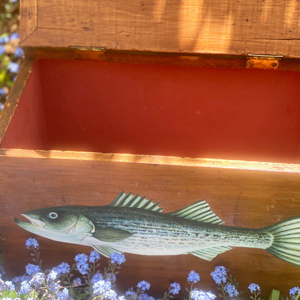 Antique Striper Box (Teak)