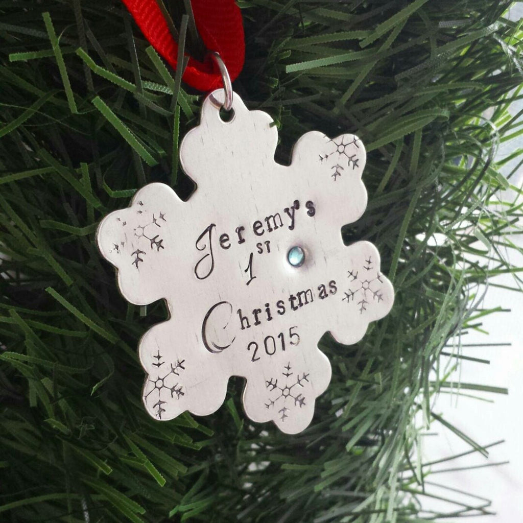 01345b5c2996 Baby s First Christmas Ornament – DreamWillowStudio