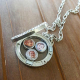 Photo Charm Locket - Use Your Own Photos!