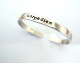 Personalized Cuff Bracelet - 1/4 inch Perfect For Stacking