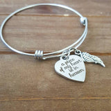 A Piece of my Heart is in Heaven Bracelet