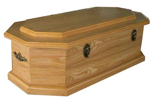 Elegant Eco-friendly Child/Pet Caskets-Wood Finish (Stock In US)
