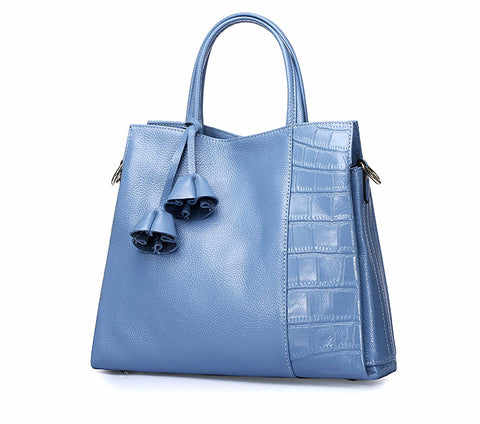 2017 exquisite New women handbags solid tote shoulder bags