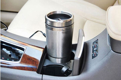 Auto Vehicle Power Mugs Stainless Steel Boiling Mugs Portable Charge On Board