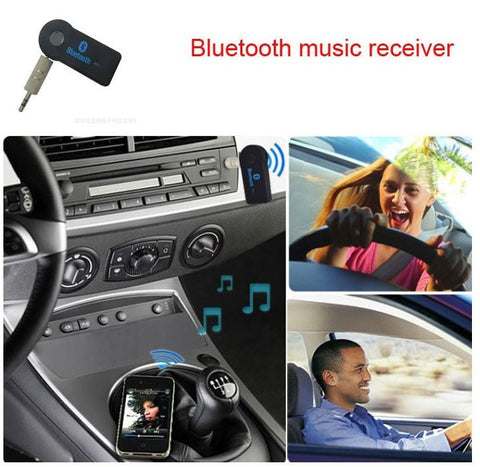 Best Promotion Universal 3.5mm Streaming Car A2DP Wireless Bluetooth AUX Audio Music Receiver Adapter with Mic For Phone MP3