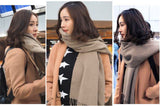 ANCE Australia lambswool big scarf winter unisex 16 colors
