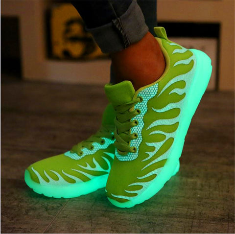 New Fashion Lover's Sneaker Casual Luminous Shoe Unisex