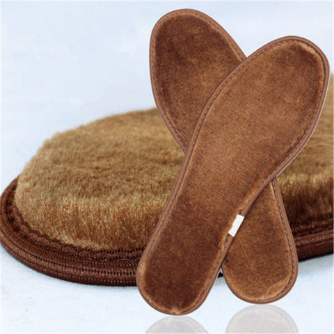 Winter  Wool Warm Shoe Insoles Unisex Feet Care Comfortable Shoes Thermal Insole Cushion Pads