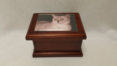 56 CI. Photo Pine Woos Pet Urn (Stock In US)