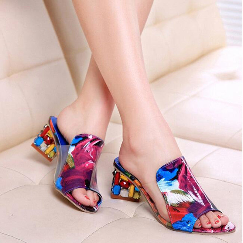 2016 Summer New Fashion Casual Shoes Women Sandals Shoes Fish Head