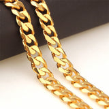 8-19mm 24inch Unisex Chain man Necklaces Unisex Jewelry Line Chain