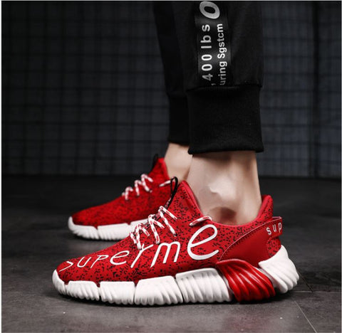 Men's Sneakers Casual Sports Athletic Breathable Running Shoes Outdoor