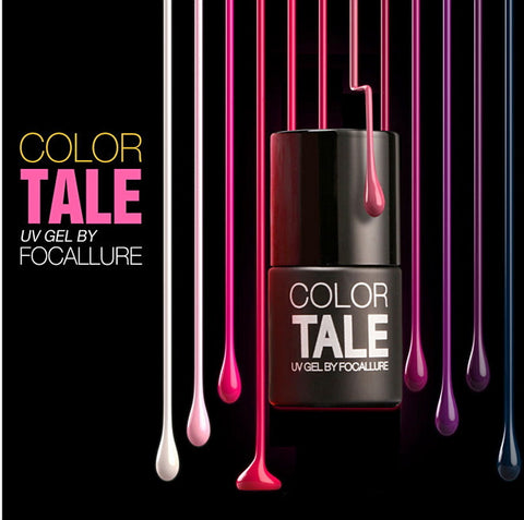 90 Colors FOCALLURE CT UV Gel Color Lacquer Easy Clean Cured UV LED Soak Off Vernis Semi Permanent 1pcs