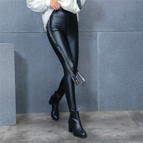 Plus High Quality Thicken Matte Soft Legging Draping Women Pants Autumn Winter