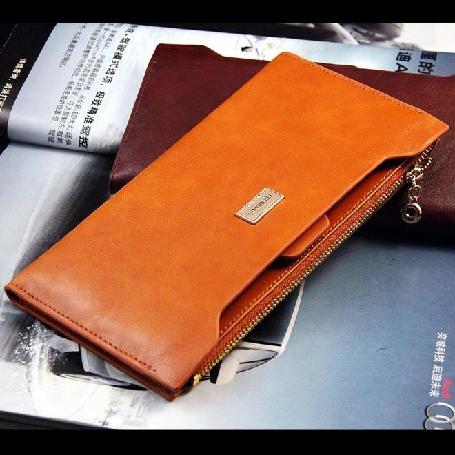 Leather Long Wallets Women Wallet Lady Purse Bag Handbag Card Pack Passport Holder