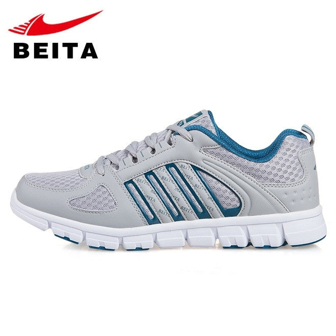Running Shoes Men Sport Mesh Breathable MD Outsole Ultra-light Anti-collision Famous Brand BeiTa Athletic Sneaker Size 39-44