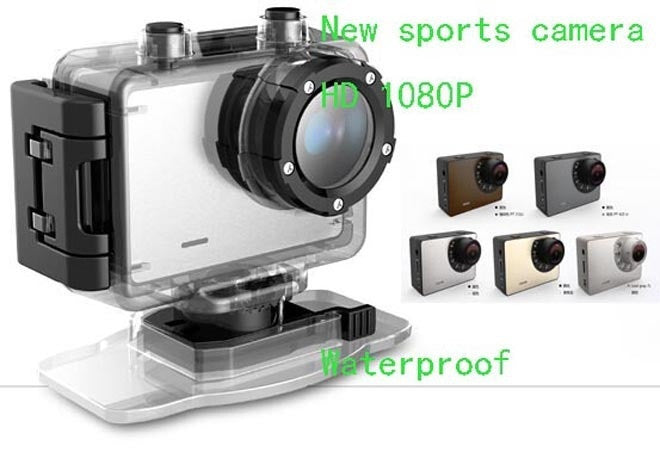 Sport DV Video Action Full HD1080p 50M Waterproof Filmadora Camera Camcorder Touch Screen 1.5 inch