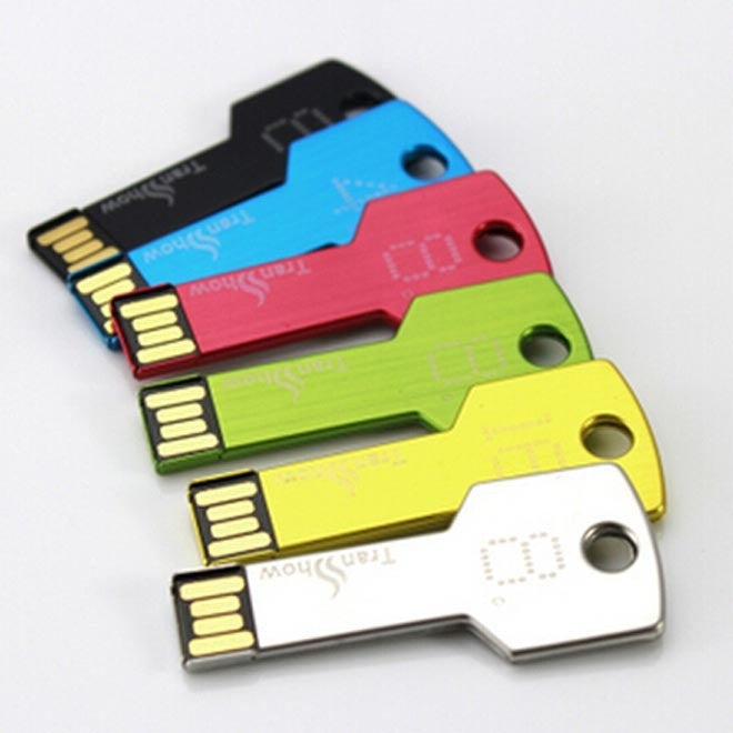 real capacity USB 2.0 Flash Drive/U Disk/Creativo Pendrive/Memory Stick/Disk/Gift Key Shape