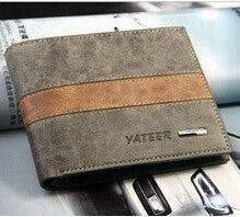 Men Wallets High Quality Genuine Leather Brand Designer Mens Wallet Mix color