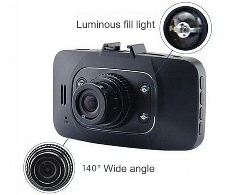 "Full HD 1080P 2.7"" Car DVR Vehicle Camera"