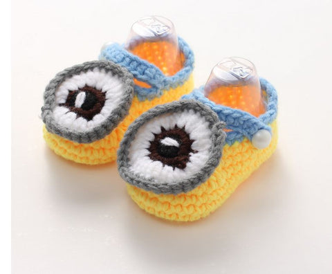 0-1 Age baby crochet knitting wool shoes