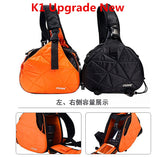 Caden K1 Waterproof Fashion Casual Triangle Camera Shoulder Bag for Canon Nikon Pentax DSLR