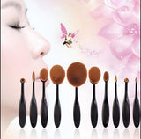10pcs New Brands Makeup Brushes Holders Convenient And Practical Hanging Brushes Drying