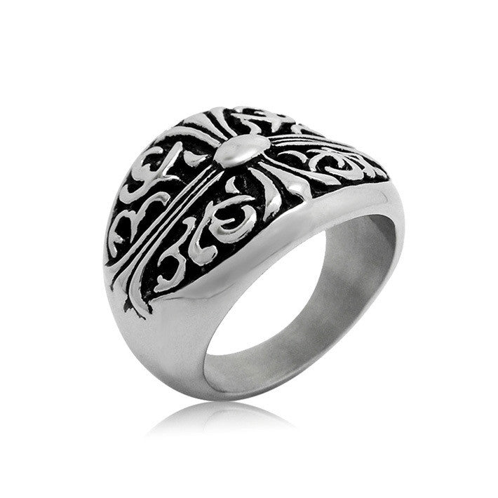 Ancient ways all the ancient decorative pattern of the flower ring SA323