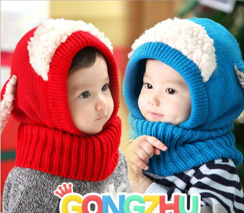 6-36 months puppy hood neck warmer new winter