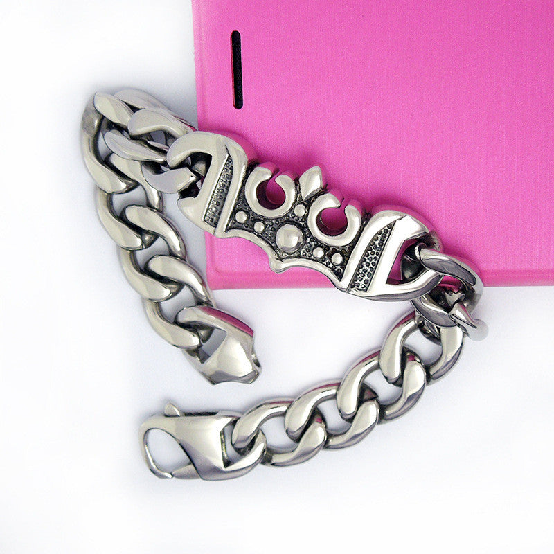 Contracted and delicate anchor bracelet personality fashion titanium steel accessories CE449