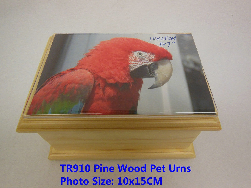 TR910  Photo Frame Solid Pine Wood Pet Urns(Stock In US)