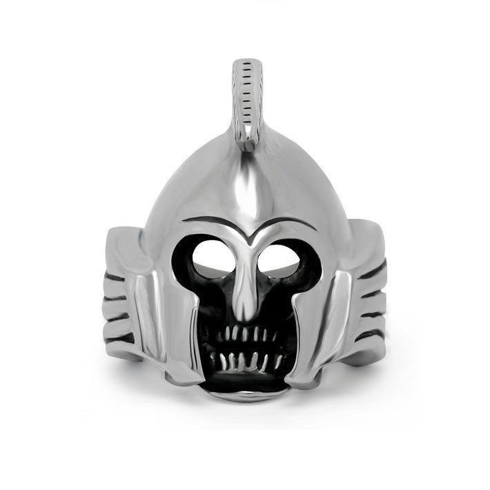 Down with the price Monkey King steel skeleton hat ring including chain SA555