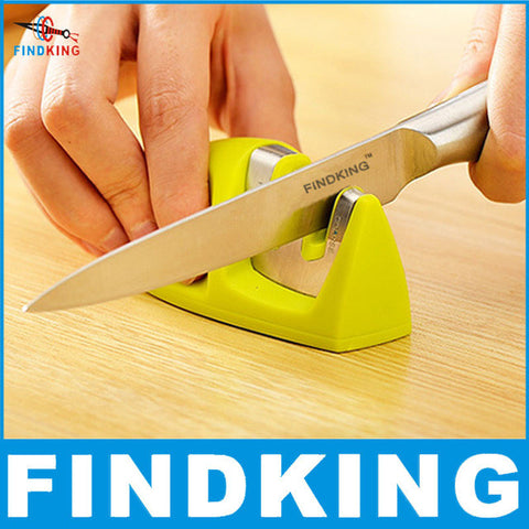 FINDKING brand Two Stages (Diamond & Ceramic) Kitchen Knife Sharpener Stone Household Knife Sharpener Kitchen Tools