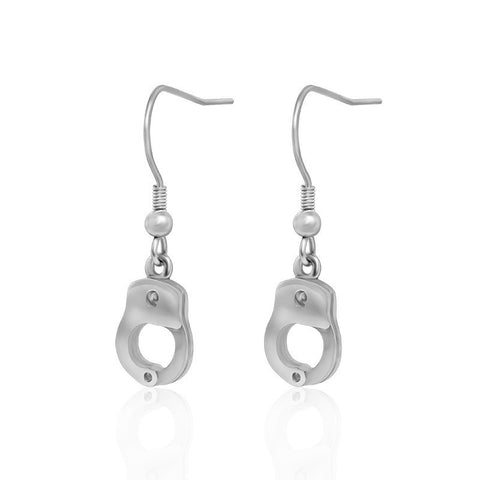 Fashion personality all match jewelry titanium earrings CF055