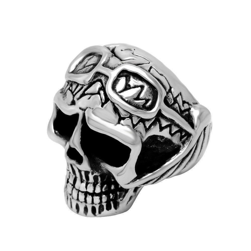 Funny skull ring accessories do not fade for man SA188