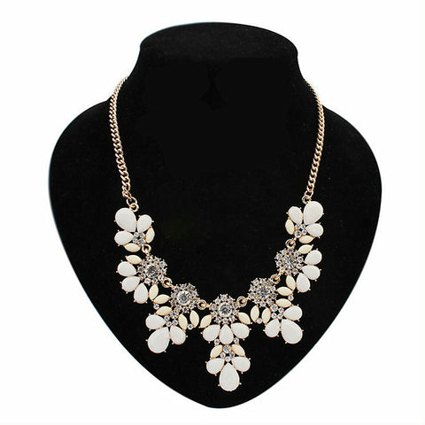 11 Colors Fashion Alloy Women Necklaces Statement Choker Fashion Charms Pendants