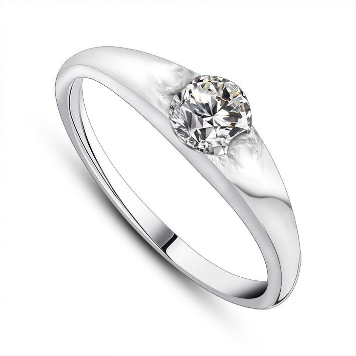 Korean personality chic queen exquisite elegant fine jewelry rings for women SA447