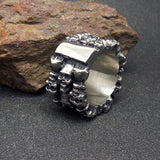 Macho men domineering personality skull ring jewelry ring SA394