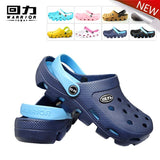 2016 new summer Unisex clogs beach sandals slippers EVA garden shoes breathable hole shoes