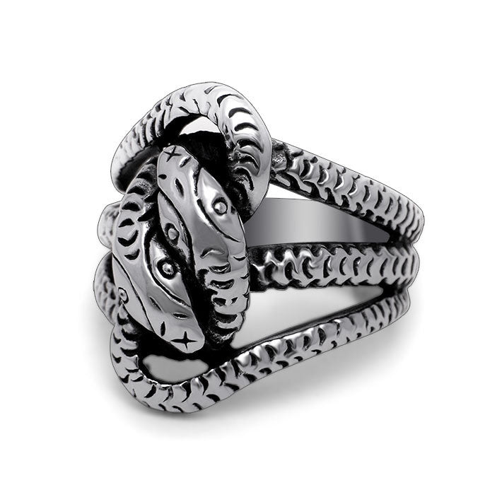 Retro Hydra exaggerated personality ring for man SA492