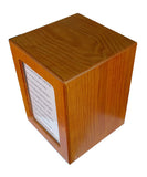 SPW110  Photo Frame Hardwood Cremation Urns(ship from AL)