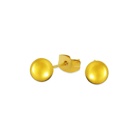 18k Gold Fashion Earrings shaped like rain drop CF068
