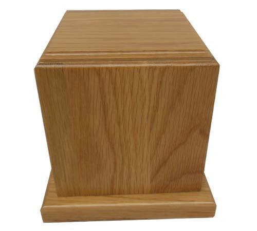 TR001- Photo Frame Red Oak Pet Urn (Stock In US)