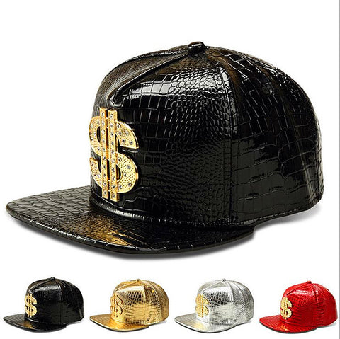 Baseball Caps Crocodile Grain Hip Hop Hat Sports Snapback